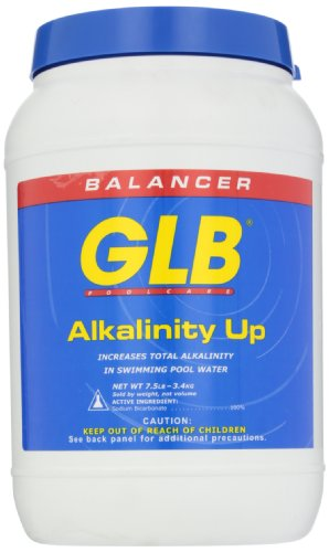 GLB Pool and Spa Products 71202 7-1/2-Pound Alkalinity Up Pool Water Balancer