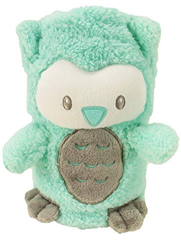 My Pet Blankie | Original Size | Ultra-Soft 3-in-1 Fleece Blanket | Teal Owl | Machine Washable | by Animal Adventure -