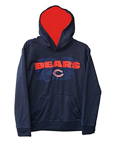 新入荷 Chicago BearsユースサイズXLサイズXL ( ( 18 B06ZZMVV3Y )パフォーマンスチームロゴフード付きスエットシャツ – ネイビーブルー 18 B06ZZMVV3Y, サムラートオンラインストア:df3aa836 --- a0267596.xsph.ru