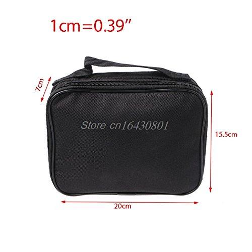 AMZVASO Double-deck Pocket Tool Kit Bag For Electronic Cigarette DIY Tools Carry Bag Case Pocket