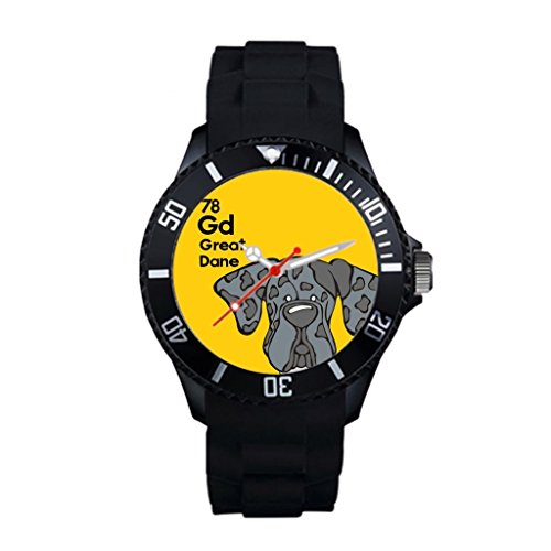 Great Dane WatchCase Material: High Quality Plastic with silicone strap