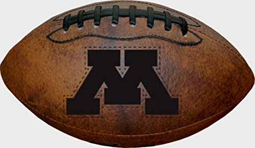 NCAA Minnesota Golden Gophers Vintage Throwback Football, 9-Inches