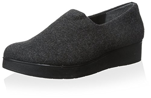 Donald J Pliner Womens Vilaa Slip-on Shoe Grigio Scuro