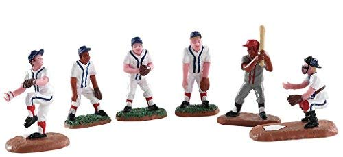 Lemax Village Collection Baseball Buddies, Set of 6# 82601 ()