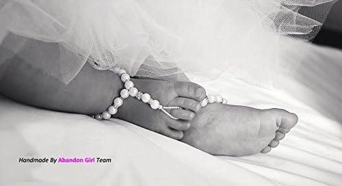 Beautiful Heirloom Barefoot Sandals Silk Baby Bootees Heirloom Crochet Barefoot Sandals Baby Barefoot Sandals Soft Baby Footwear