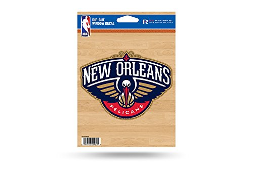 NBA New Orleans Pelicans Die Cut Vinyl Decal