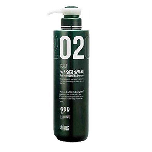 Anti-Hair-Loss-Shampoo-Feel-Green-Tea-Oily-Scalp-Hair-Deep-Clean-Nutrition-Amos-Hair-Care-Styling