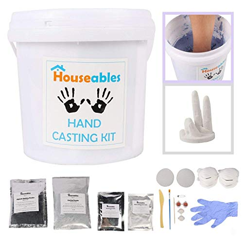 Houseables Handprint Sculpture Anniversary Footprint product image