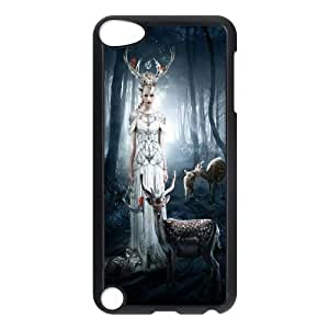 Cute deer Pattern Hard Case Cover For For ipod Touch 5 Case FKGZ466135