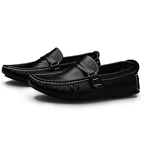 pelle uomo gommino 0cm in Mocassino uomo sintetica barca Scarpe 0cm in Mocassino pelle Scarpe in 24 Dimensioni bianco Nero Scarpe comfort pelle Hcwtx basse 29 nero da da da P4nx8ST