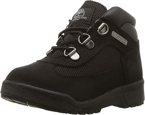Boots Low Price (Timberland Kids Unisex Fabric/Leather Field Boot (Toddler/Little Kid) Black Waterbuck Nubuck 4.5 M US Toddler)