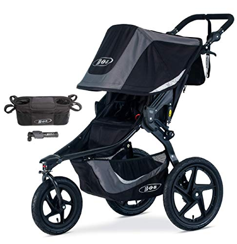 BOB Revolution Flex 3.0 Jogging Stroller, Graphite Black ...