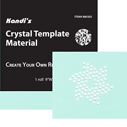 amazon com crystal template material 9 x 36 create your own