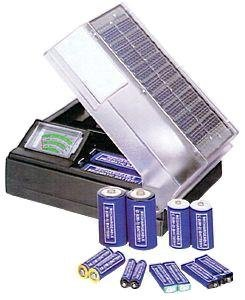 Solar Powered Aa Battery Charger - 3