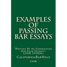 Examples Of Passing Bar Essays: Nine dollars and ninety-nine cents