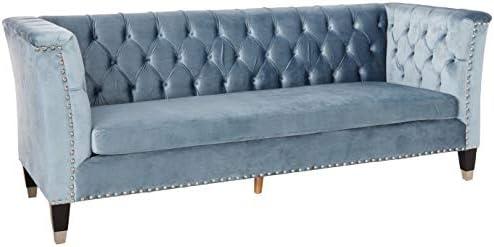 ACME Honor Sofa – 52785 – Blue-Gray Velvet