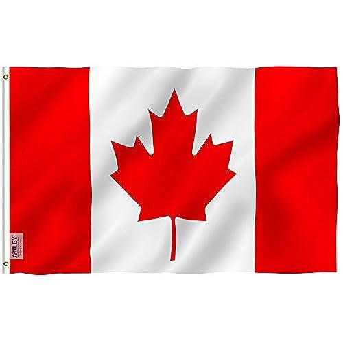 Canadian flag - Canada flag image ...