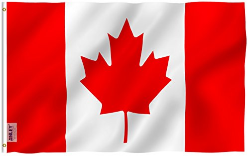 Anley [Fly Breeze 3x5 Foot Canada Flag - Vivid Color and UV