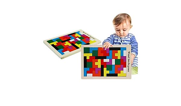 TianranRT Juego de construcción del bloque de Tetris del ...
