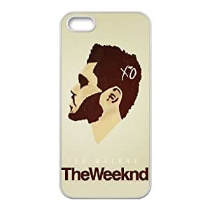 The Weeknd XO iPhone 5 5s Cell Phone Case-White MUS9183108