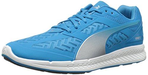(PUMA Men's Ignite PWR Cool Running Shoe, Hawaiian Ocean/Silver, 13 M US)