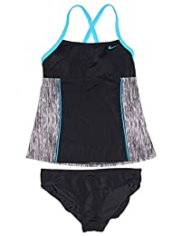 838c3cc3f4a Nike Women's Tankini Athletic Two-Piece Swimsuit