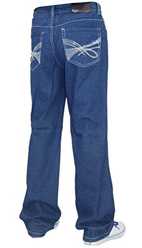 04c Generic Uomo Blue Jeans light rErvzAq