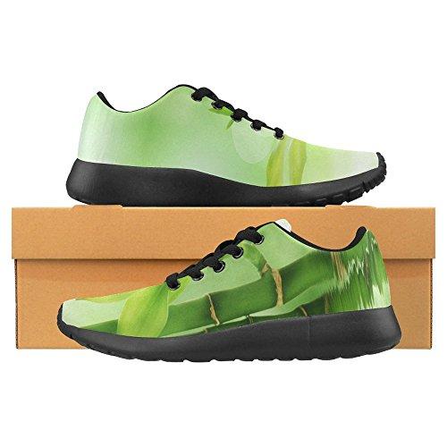 InterestPrint Womens Jogging Running Sneaker Lightweight Go Easy Walking Casual Comfort Running Shoes Bamboo Multi 1 2D50xh3g