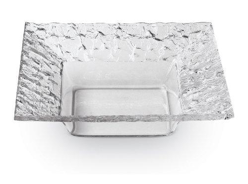 Rosseto 8-Inch Faux Glass Square Dish