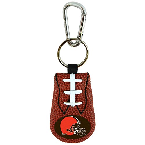 Cleveland Browns Classic NFL Football Keychain,One Size,Brown Classic Nfl Football Keychain