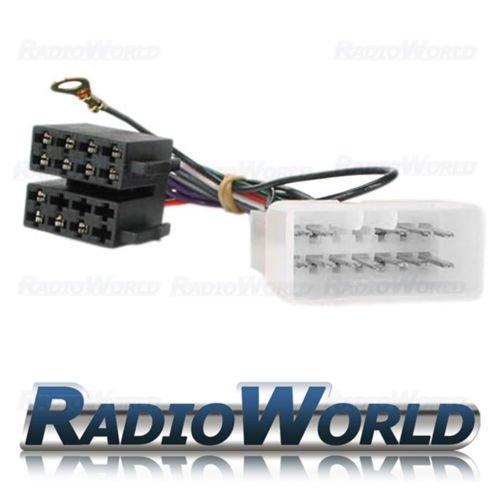 Suzuki Car Stereo Radio ISO Adaptor Lead Wiring Loom: Amazon.co.uk: Electronics