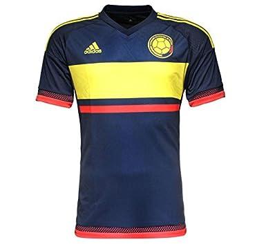 cee4da5b0 Amazon.com  Adidas Colombia Away Soccer Jersey 2015 (S)  Clothing