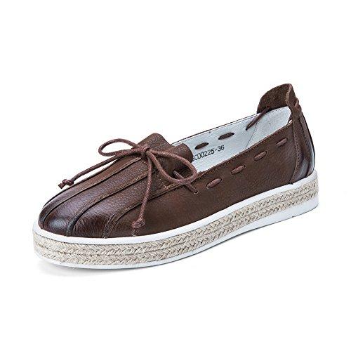 Otoño poco profunda de los zapatos a mano/ zapatos vintage B