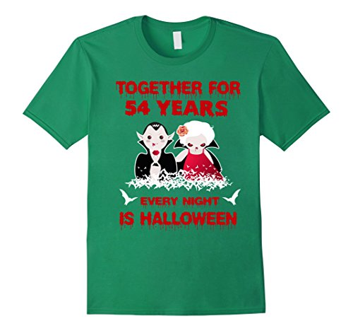 Mens Funny Halloween Costume For Partners. 54th Anniversary Gift. 3XL Kelly Green
