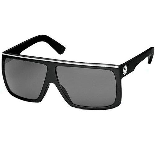 Dragon Sunglasses Fame Large Fit Eyewear - Dragon Alliance Men's Outdoor Shades - Jet/Grey / One Size Fits - Sunglasses Fame Dragon