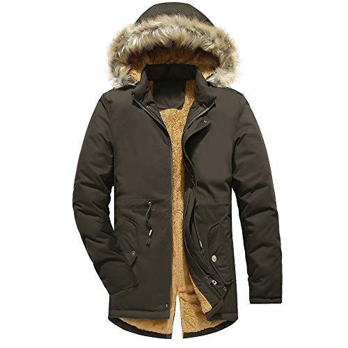 Plus Winter Coat Camouflage Outwear Green Thickening Size Hoodie QUINTRA Blouse Jackets Men tnzBqB