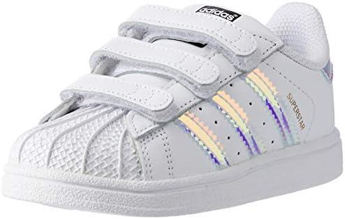 adidas Baby Girls' Superstar CF Shoes, Footwear White