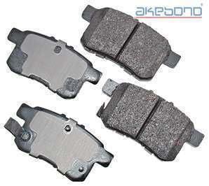 Akebono ACT1336 Disc Brake Rotor