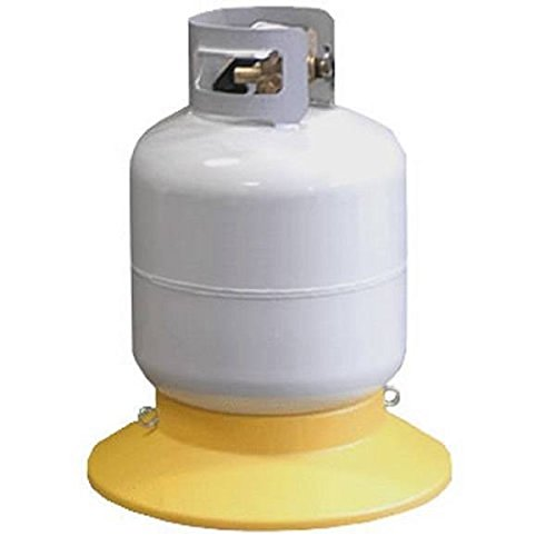 Tanksetter Compact Portable Cylinder Propane Tank Base - Sturdy and Durable - Holds Tanks Weighing 5-40lbs - Use Outdoors When Grilling, Camping, Traveling, Tailgating, at Home, or for - Carrier Propane