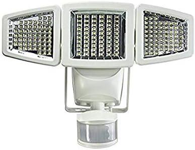 Sunforce 82183 – 180 LED Solar Motion Light, triple head, 1200 Lumens