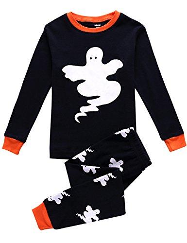 Boys Halloween Pajamas Glow in The Dark Costumes Toddler Pjs Clothes Sleepwears