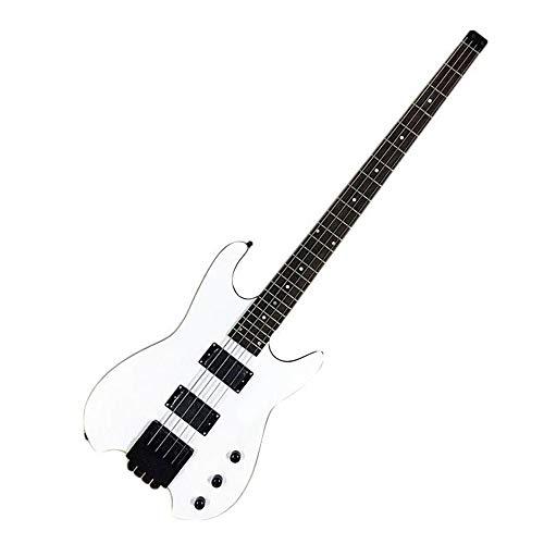 Niceou Creative Headless Bass Guitar Music Toy Beginner Entertainment Kids Basswood ()