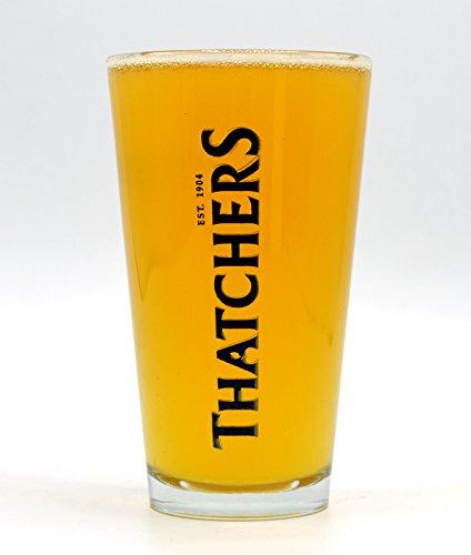 4 THATCHERS PINT CIDER GLASSES  BRAND NEW