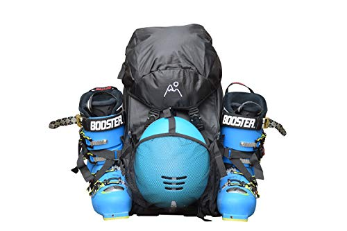 Mt Sun Gear Ski Boot Backpack/Boot Bag- Super Durable, Lightweight for ski Boots, Snowboard Boots, Helmets and Gear!