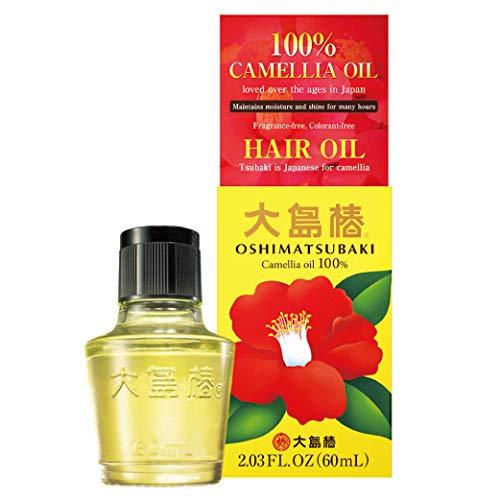 Oshima Tsubaki Camellia Hair Care Oil, 60ml