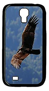 Samsung Galaxy S4 I9500 Case and Cover -Eagle wings PC case Cover for Samsung Galaxy S4 I9500-Black