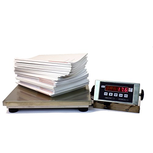 Low Profile Bench Scale (500 x 0.1 NTEP Legal For Trade 16 x 14 Low Profile Bench Scale Digital Platform Shipping Warehouse)
