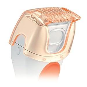 Panasonic ES2291D Ladies Wet/Dry Shaver, White/Orange