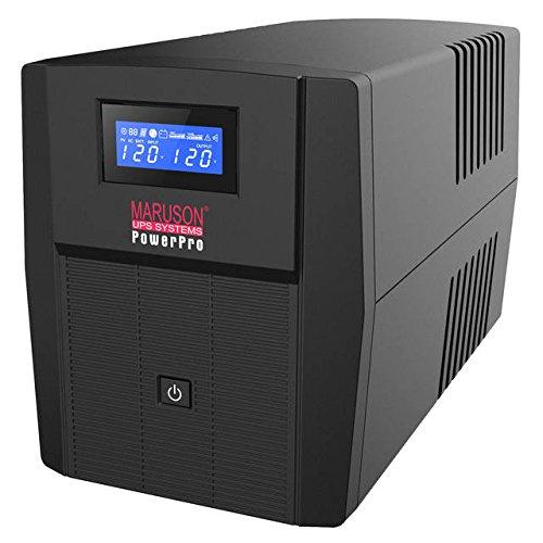 MARUSON PRO-2000LCD 2000VA/1200W LINE Interactive UPS with M