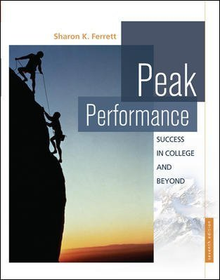 Download Peak Performance Success in College and Beyond Baker College Edition PDF